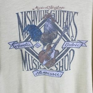 NASHVILLE GUITARS MUSIC SHOP Men's Graphic T-Shirt